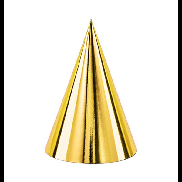Partyhüte gold