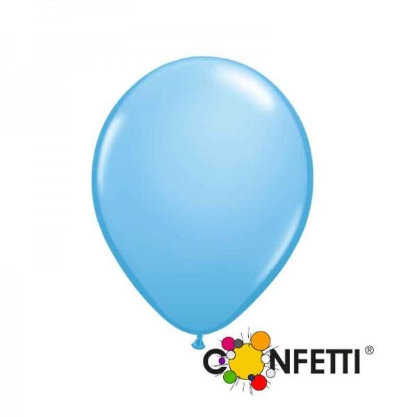 Hellblaue Luftballons 15cm