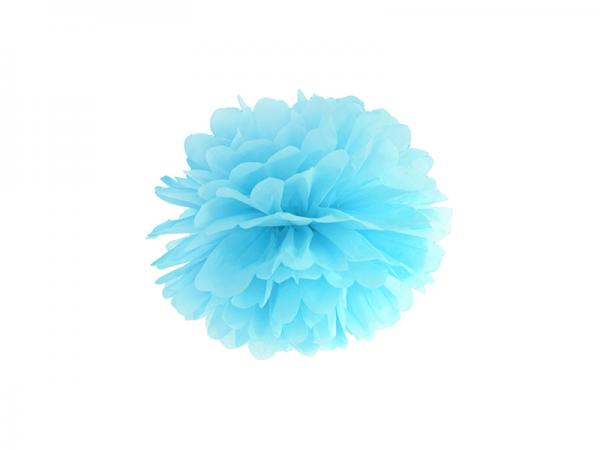 PomPom hell blau