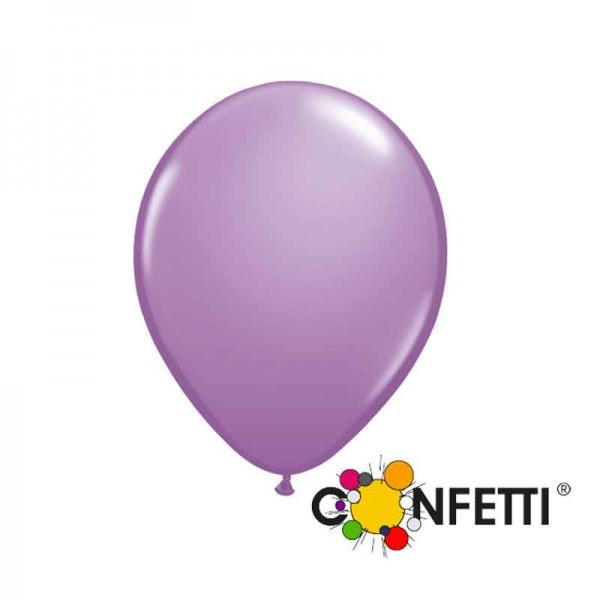 Pastell lila Luftballons 15cm