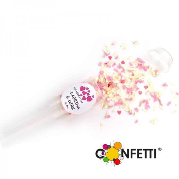 Hochzeit Konfetti Popper Confetti