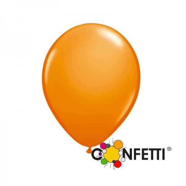 Orange Luftballons 30cm