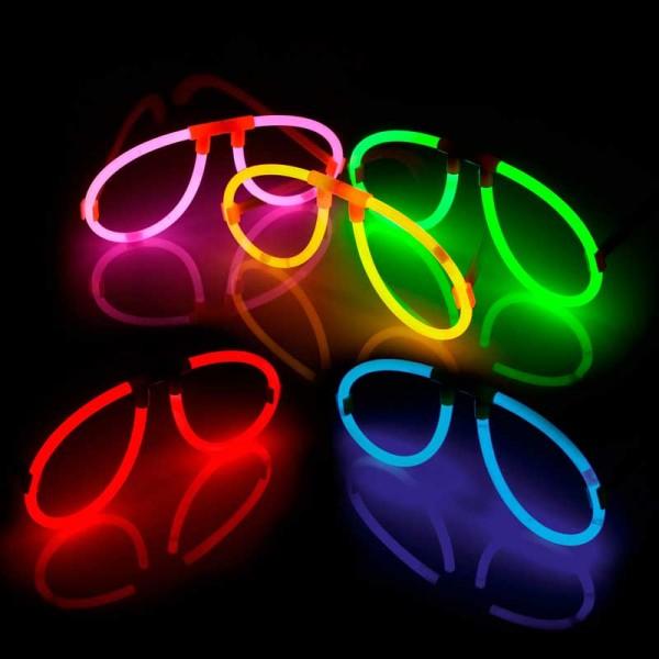 Knicklicht Brille 25er Karton
