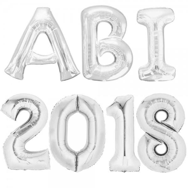 XXL Folienballons Set ABI 2018