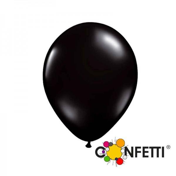 Schwarze Luftballons 15cm