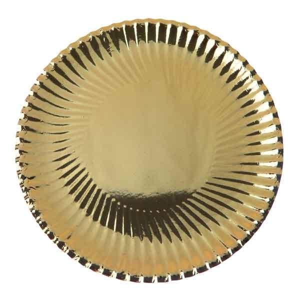 Metallic gold Teller