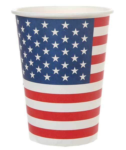Pappbecher USA