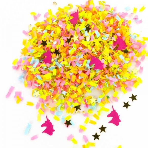 einhorn konfetti